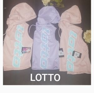 LOTTO Cropped hoodies